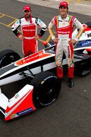 Bruno Senna and Nick Heidfeld