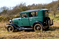 208  Marcus Rowe  FORD MODEL A SALOON BF8320