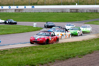 Creative Touch Design Sponsored MX5 at Rockingham