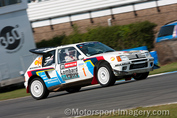 Motorsport Imagery Rally Cars Peugeot 205 T16 Evo Kevin Furber